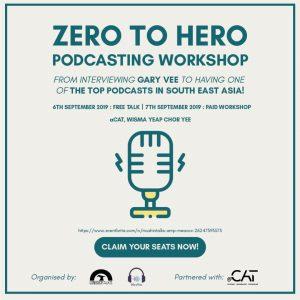 Zero to Hero Podcasting Workshop